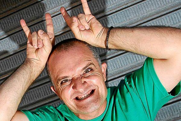 El cómico Toni Albà, independentista declarado.