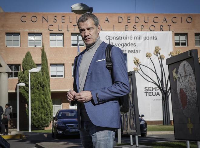 El candidato 'oficilista' de Cs a la Presidencia de la Generalitat.