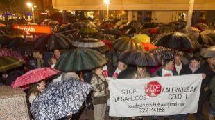 La cifra de desahucios se mantuvo estable en Euskadi en 2018 con 1.191 casos