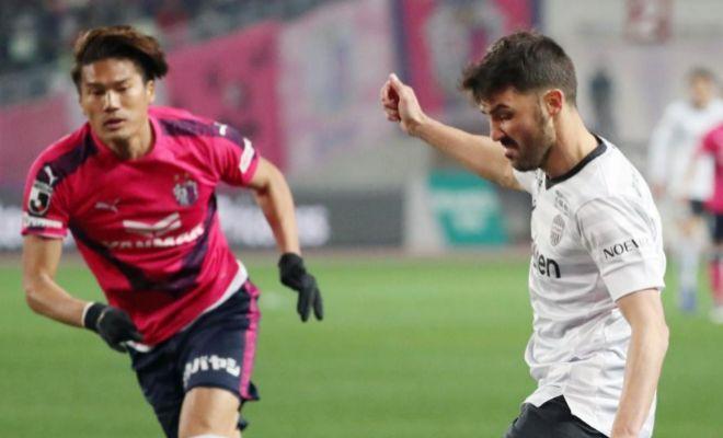 David Villa, con el Vissel Kobe, la semana pasada.