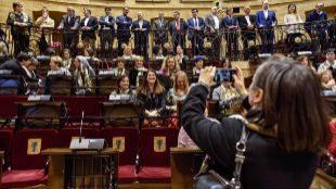 """200 Electas vascas reclaman """"socializar"""" la responsabilidad del trabajo doméstico"""