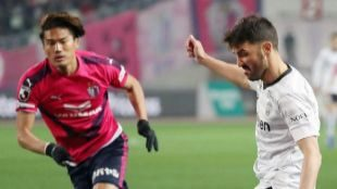 Villa se estrena en Japón con gol ante Torres
