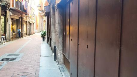 Calle del centro de Tolosa.