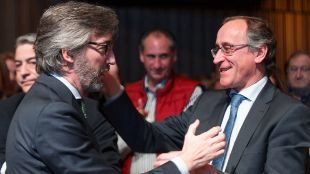 """Alonso respalda a Oyarzábal para aglutinar al """"centro derecha"""" y recuperar la Diputación"""