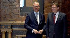 El embajador británico defiende otra vez a Intu
