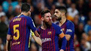 El Real Madrid, en la boca de Messi