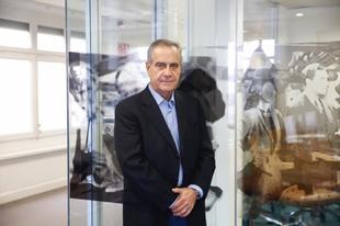 El ex ministro socialista Celestino Corbacho durante la entrevista con EL MUNDO