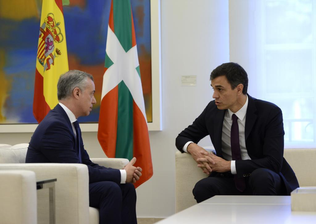 El lehendakari y el presidente del Gobierno español, en un encuentro anterior.