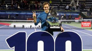 La increíble gesta de Federer: conquista su título 100