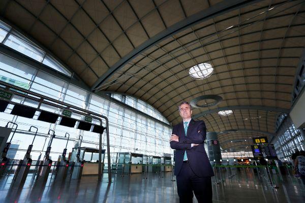 """Tomás Melgar: """"¿'Brexit'? Alicante tendrá más vuelos a Reino Unido este verano"""""""