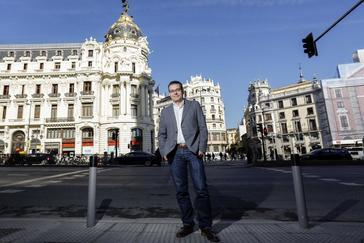 Chema Dávila, candidato del PSOE a las primarias para el Ayuntamiento de Madrid.