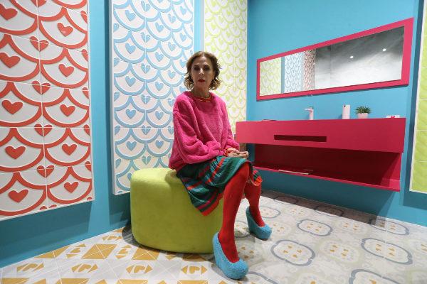 La diseñadora pone especial énfasis en el mundo de la cerámica y en Castellón.