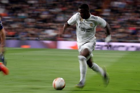 El jugador del Real Madrid Vinicius Jr.