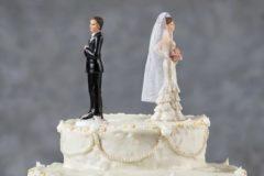 Las separaciones y divorcios disminuyen un 3,6%