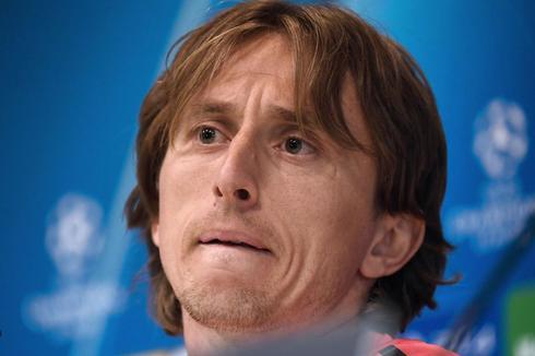 Luka Modric, en rueda de prensa.