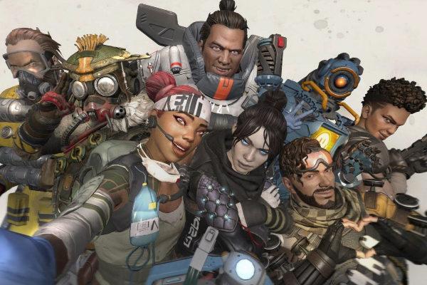 Los ocho protagonistas actuales del videojuego Apex Legends