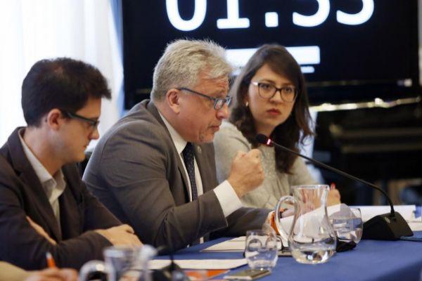 El portavoz adjunto de Cs en el Ayuntamiento de Alicante, Antonio Manresa, en un pleno.