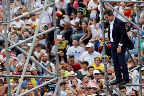 """Juan Guaidó regresa a Caracas: """"Seguimos en la calle, seguimos movilizados"""""""