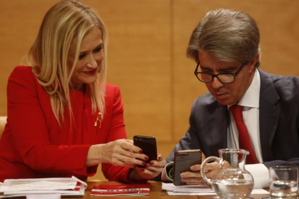 Cristina Cifuentes y Ángel Garrido, ex presidenta y presidente de Madrid.