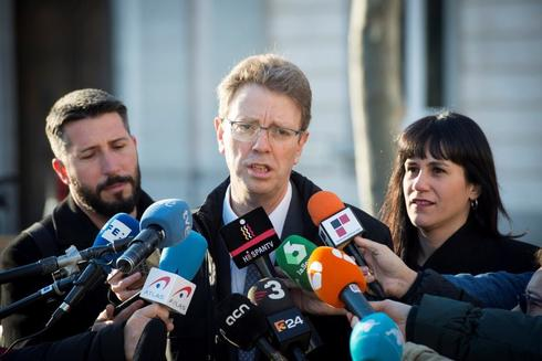 El diputado de PDeCAT, Ferran Bel, ante el Tribunal Supremo