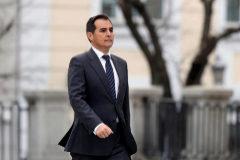 El ex 'número dos' de Interior, José Antonio Nieto, a su llegada al Supremo