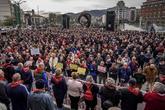 Pensionistas en una de las concentraciones de Bilbao