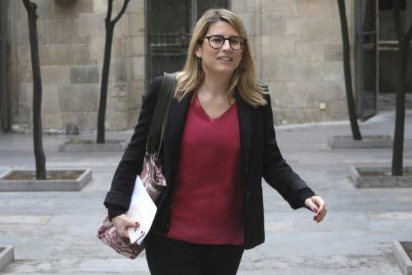 Antonio Moreno 05.03.2019 Barcelona Cataluña.La consellera Elsa <HIT>Artadi</HIT> en el palau de Generalitat , reunión del Govern.