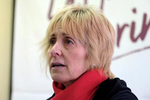 La candidata de Podemos a la alcaldía de Ávila, Pilar Baeza