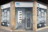 Una conocida inmobiliaria de un banco en Alicante.