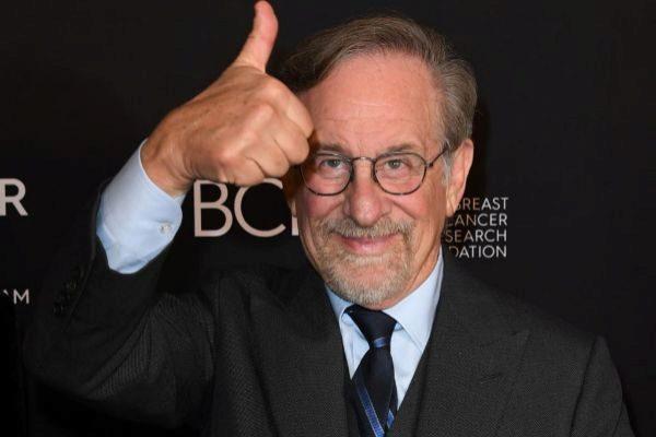 El director estadounidense, Steven Spielberg, en un acto en Beverly Hills.