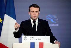 Emmanuel Macron pide a la UE una reorganización de su defensa