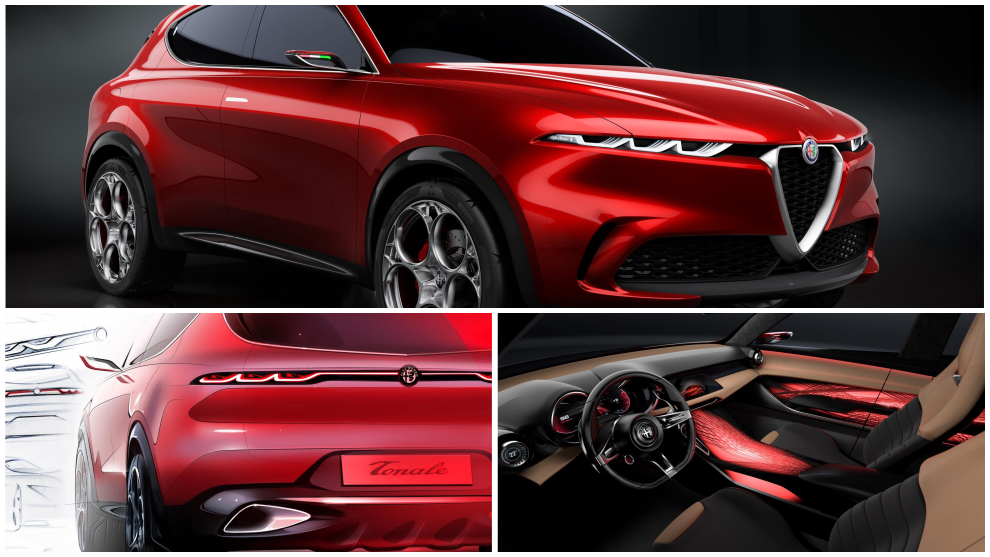 Alfa Romeo Tonale concept: así es el todocamino urbano de Alfa