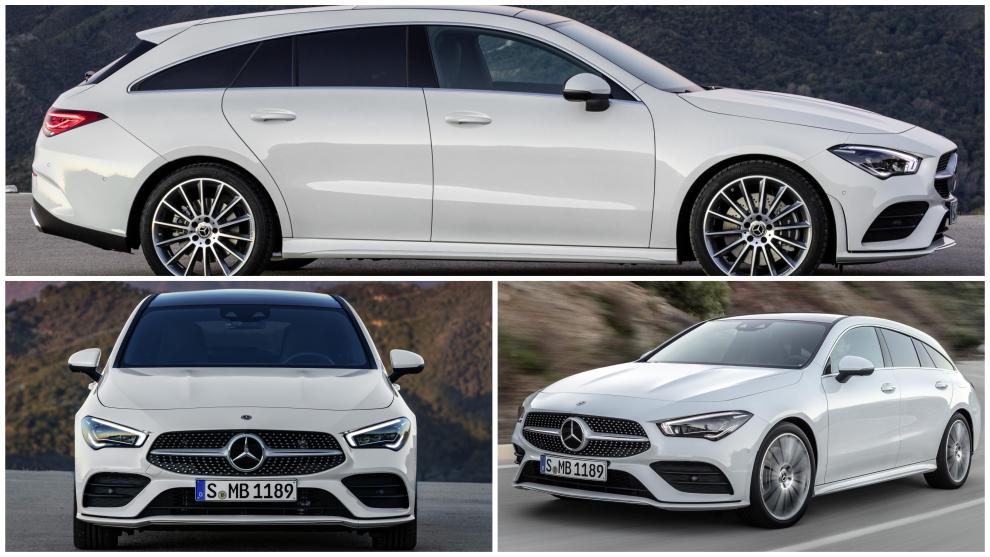 Mercedes CLA Shooting Brake: así es el deportivo familiar alemán