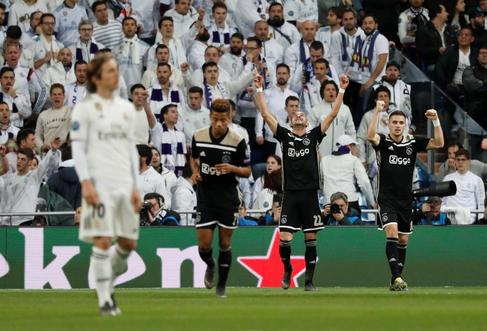 En directo: Real Madrid - Ajax
