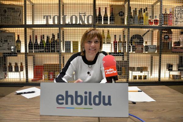 """Larrión (EH Bildu): """"Volver a apoyar en Vitoria a un proyecto no ganador sería una traición al votante"""""""