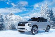 Mitsubishi Engelberg Tourer: un SUV híbrido con 70 km de autonomía eléctrica