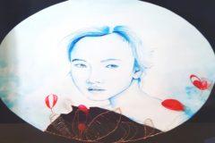 La obra 'Enmendando el error', de la artista emergente Diana Nieto.