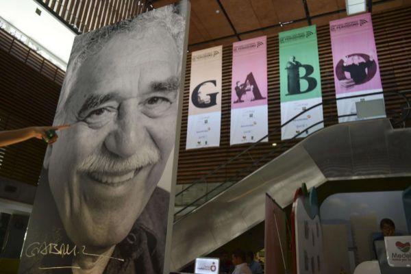 El Premio Nobel de Literatura Gabriel García Márquez.