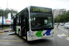 Autobús de la Empresa Municipal de Transportes de Palma.