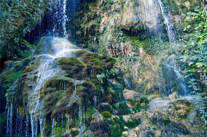 Cascada del Río Mundo.
