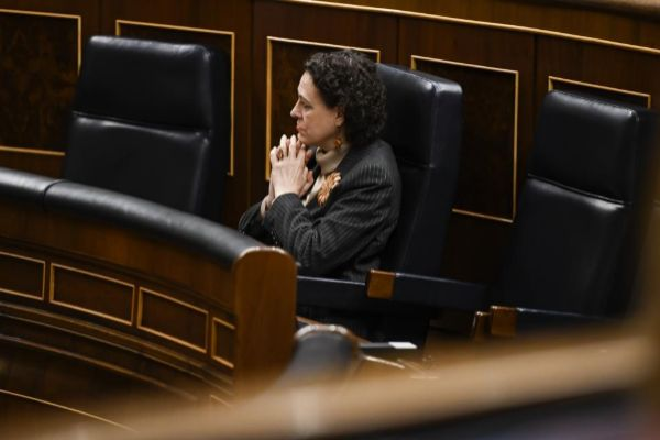 La ministra de Trabajo y Seguridad Social, Magdalena Valerio.