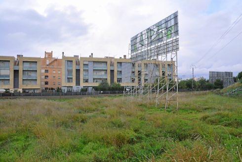 Solar de Son Bordoy, donde se proyectaron más de 800 viviendas en la legislatura del anterior Pacte. ALBERTO VERA