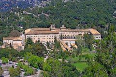 El monasterio de Lluc.