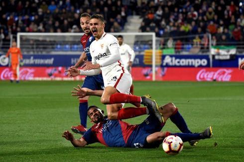 André Silva, ante el Huesca, el pasado sábado.