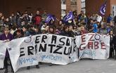 Movilización en Barakaldo contra una agresión sexual.