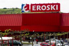 Un supermercado del grupo Eroski en Bizkaia.