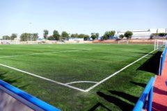 Campos de fútbol del polideportivo Andrés Torrejón de Móstoles.