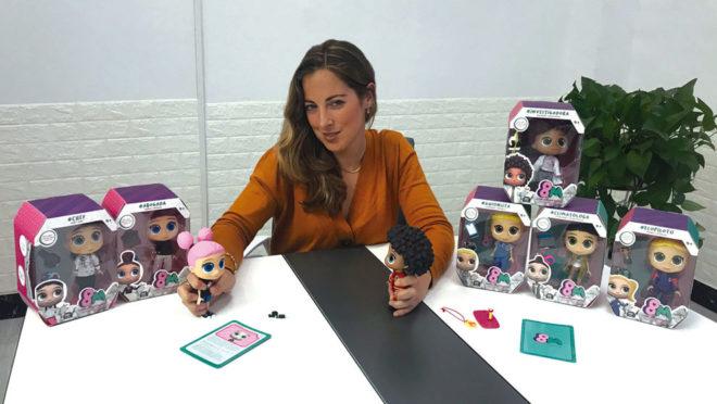 Lola de Barutell, la juguetera que quiere luchar contra los estereotipos con sus originales muñecas.