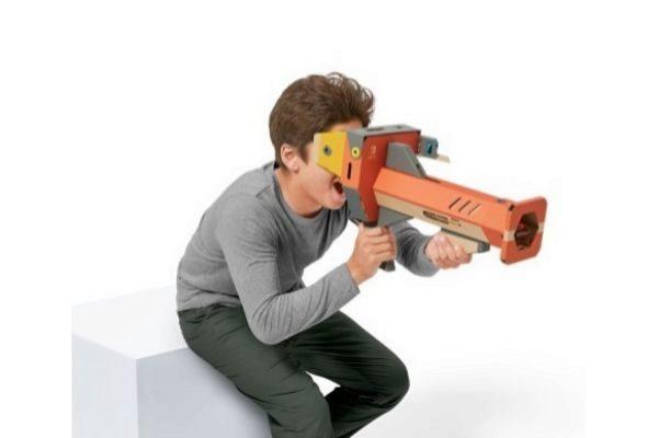 Nintendo anuncia su primer set de Labo con realidad virtual