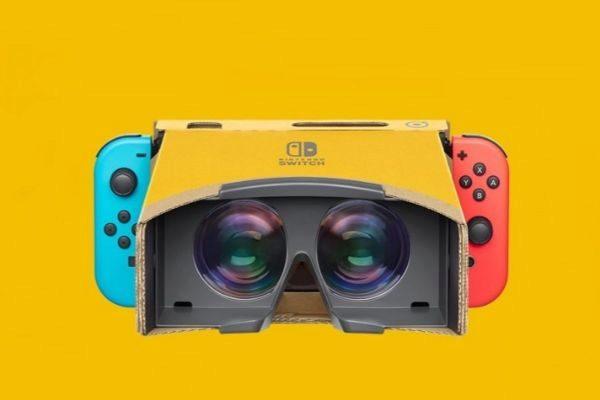 Nintendo anuncia un set de Labo con realidad virtual